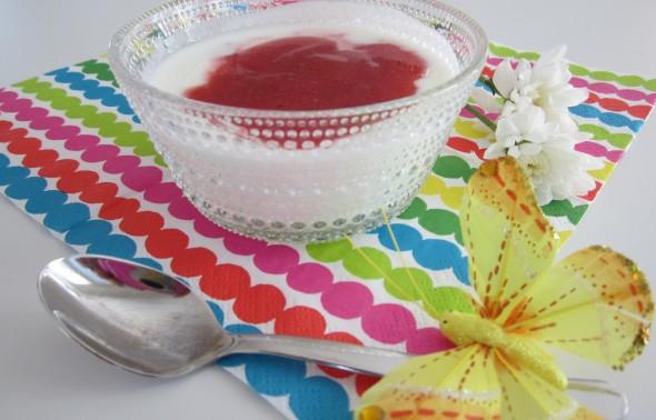 Mansikkajäähdyke (4 annosta)