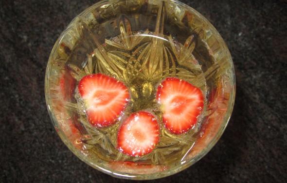 Mansikkahilejuoma (2 annosta)